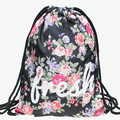 Saco mochila escolar saco de cordão harajuku galaxy 3d impressão softback mochila unisex mochila de viagem minina