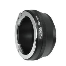 Sony NEX3/C3/NEX5/5C/5N/5R/NEX6/7 용 FOTGA Pentax K/PK 렌즈 E 마운트 어댑터