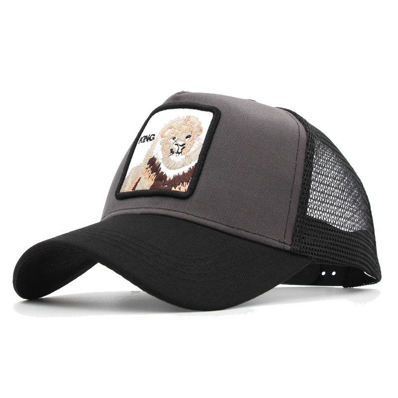 Custom Baseball Cap Goat Style 2 Embroidery Acrylic Casual Hats for Men /& Women