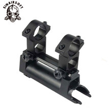 Cover Replaces Rear-Receiver Rifle-Mount Rail 20mm SKS with Gift-Scope See-Thru-Rings