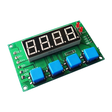 DC12/24V trigger delay on and off cycle timing control switch two dual power tube module / board