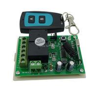 315 mhz dc 12ボルト2チャンネル学習多機能ワイヤレスリモートコントロールスイッチレシーバーボードモジュール