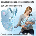Novo Espaço de portadores de Bebê ajustável Criança estilingue ergonômico Infantil suspensórios Mochila Canguru Bolsa Envoltório 2-30 Meses