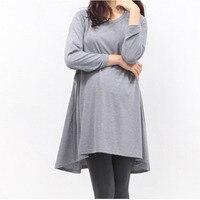 Maternity Breastfeeding Nursing Tops For Pregnant Women Long T Shirt Nursing Clothes Breast Feeding Baby Peeking