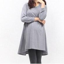 Maternity Breastfeeding Nursing Tops for Pregnant Women long T Shirt Nursing Clothes Breast Feeding Baby Peeking Nurse Shirts