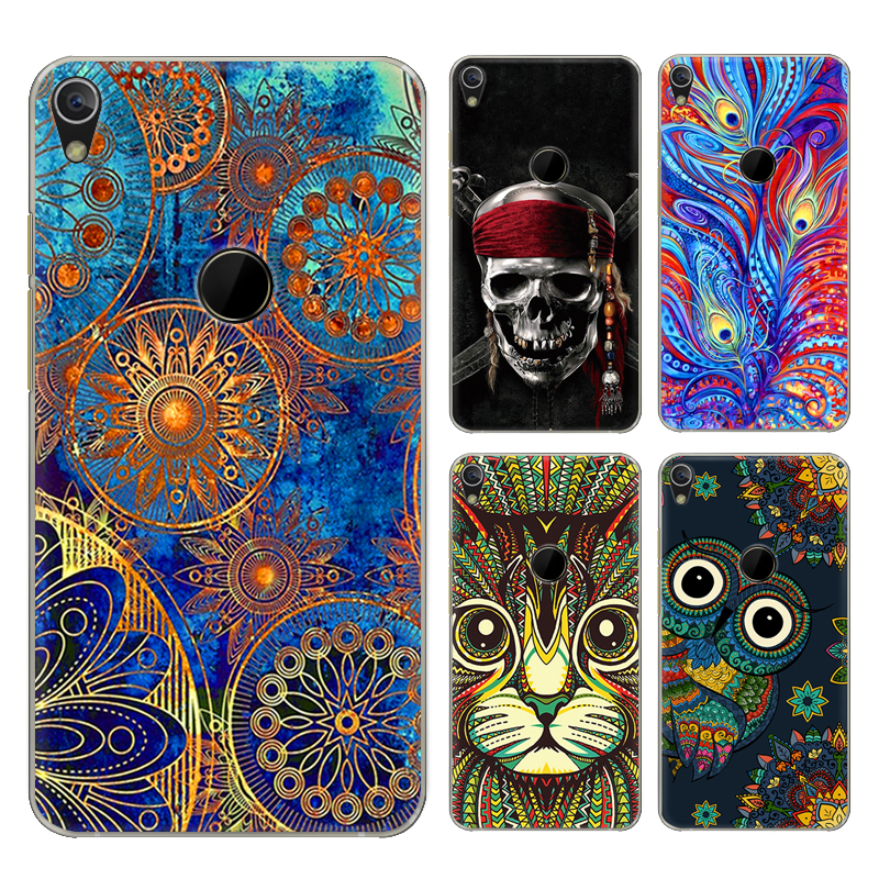 Phone <font><b>case</b></font> For <font><b>Alcatel</b></font> Shine Lite <font><b>5080X</b></font> 5-inch Cute Cartoon High Quality Painted TPU Soft <font><b>Case</b></font> Silicone Skin Back Cover Shell image