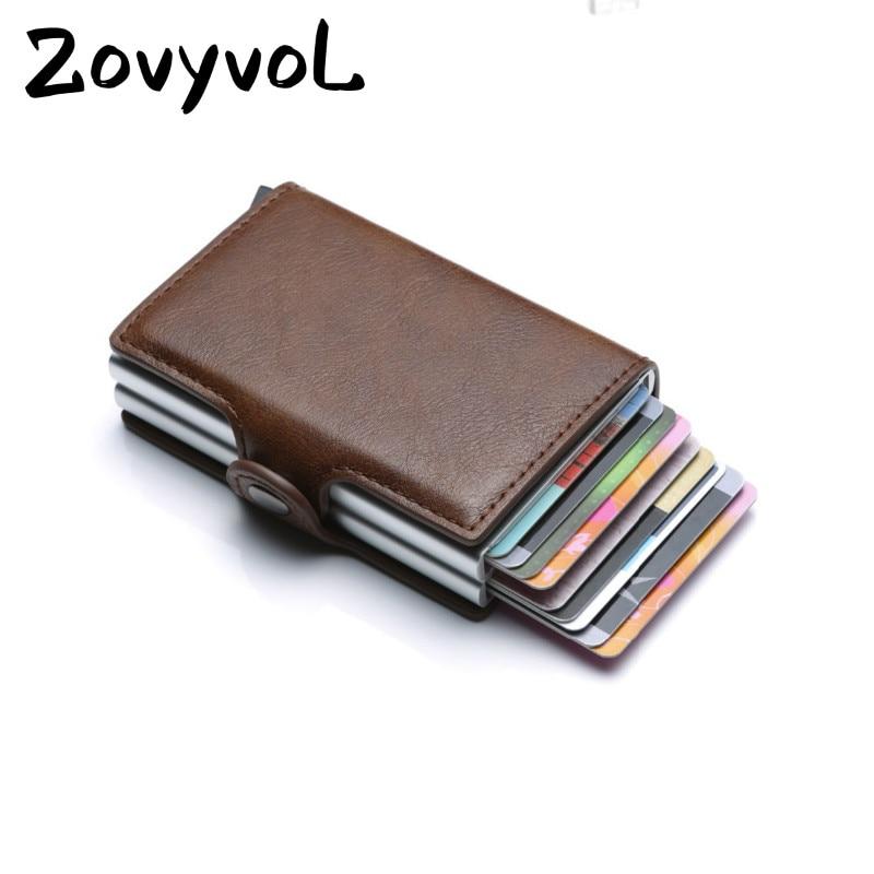 ae3afaf714a5 Lowered ZOVYVOL 2019 Unisex Metal Blocking RFID Wallet ID Card Case ...