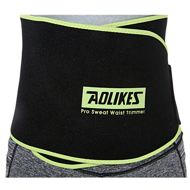 Women Sports Fitness Exercise Waist Band Pro Sweat Waist Trimmer Protector Female Belly Shaper Thin Adjustable Training Belt 5