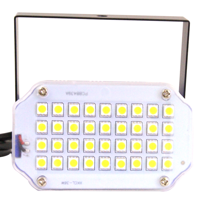 Mini 36 LED Bühnenbeleuchtung Strobe Effekt DJ Disco Licht Sound - Kommerzielle Beleuchtung - Foto 2