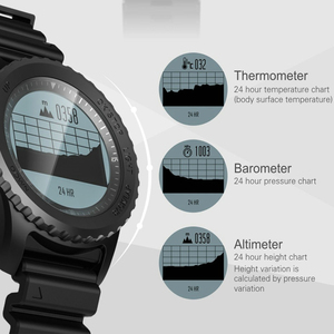 Image 3 - Greentiger reloj inteligente S968 para hombre, deportivo, resistente al agua, con GPS, control del ritmo cardíaco, podómetro, natación, reloj inteligente para exterior