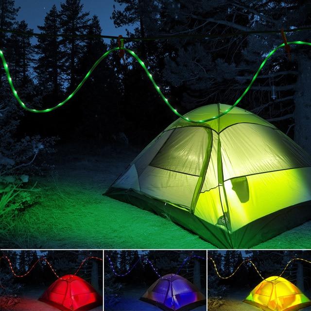 Portable led rope light 15m rgb led strip camping lantern with portable led rope light 15m rgb led strip camping lantern with 24key controller hiking aloadofball Gallery