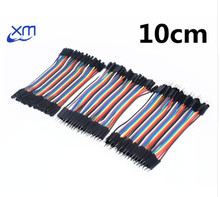 Dupont line 120pcs 10cm male to male + male to female and female to female jumper wire Dupont cable 1 sets