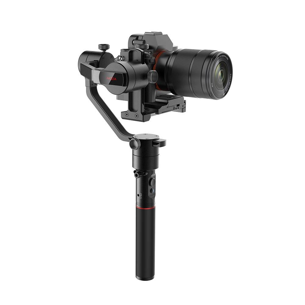 MOZA AirCross 3-Axis Handheld Gimbal Stabilizer for Sony A7 A7S A7R II A9 A99 A6500 Panasonic GH4 GH5 G85 G9 Mirrorless Camera цена