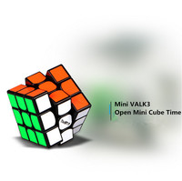 QIYI 3x3x3 Mini Valk3 Magic Cube Professional Competition Game 47 4MM Length Speed Puzzle Cube Educational
