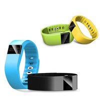High Quality Bluetooth Smart Bracelet Watch Sport Healthy Pedometer Sleep Monitor Waterproof for iPhone Android Wholesale