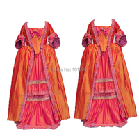 Customer to order!18th Century French Noble style Duchess Renaissance Gothic Theater Victorian Dress Reenactment dresses HL 235