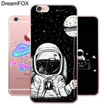 M138 Space Astronaut Soft TPU Silicone Case Cover For Apple iPhone 11 Pro X XR XS Max 8 7 6 6S Plus 5 5S SE 5C 4 4S цена и фото