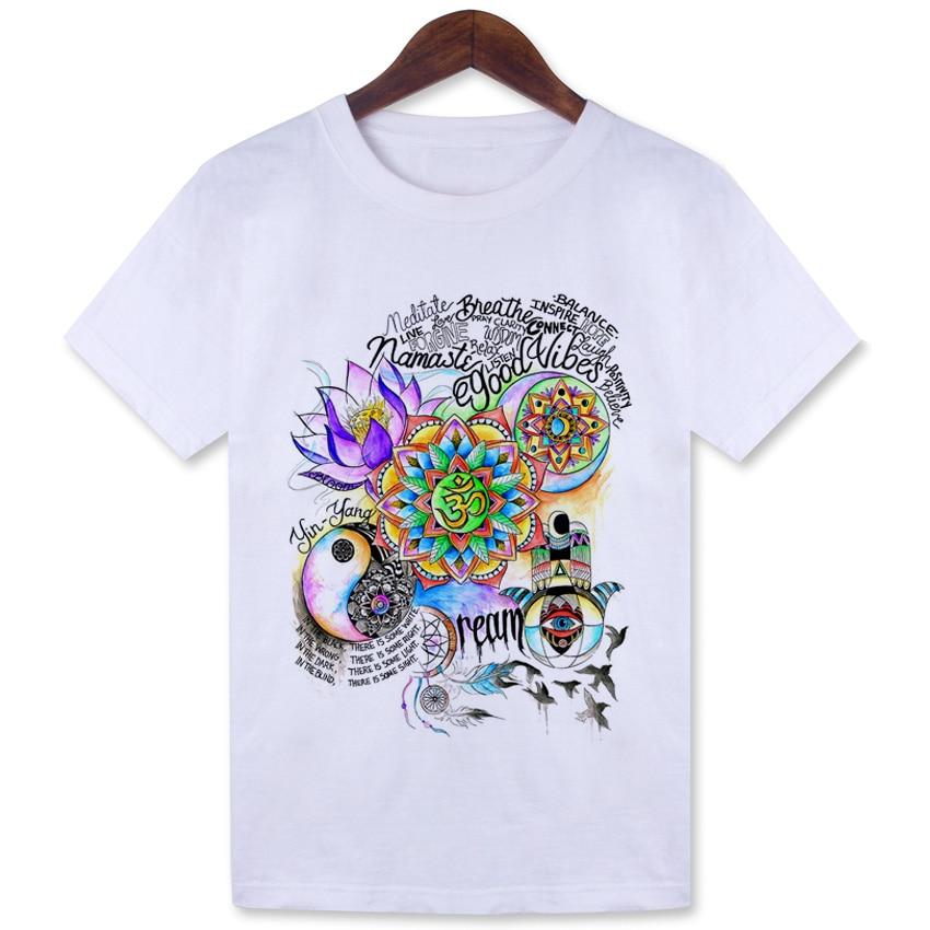 Women's Good Vibes Print T-Shirt 2