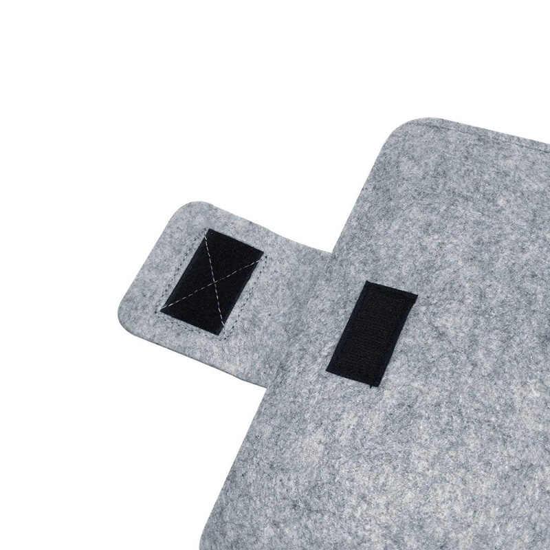BinFul 9.7 11 12 13 15 17 بوصة الصوف غطاء حاسوب محمول مصنوع من اللباد حقيبة غطاء للحماية لينة بطانة غطاء الكمبيوتر للرجل المرأة طالب