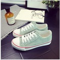 Spring Summer classic Pure and fresh joker corduroy low canvas shoes top quality leisure flat single shoes for students