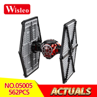Wisleo 05005 Star Wars Classic LegoINGlys 75101 Special Forces Tie Fighter Model Building Blocks Bricks Toys