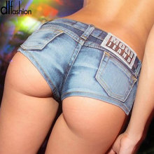 Fashion Slim solid Sexy Mini Shorts