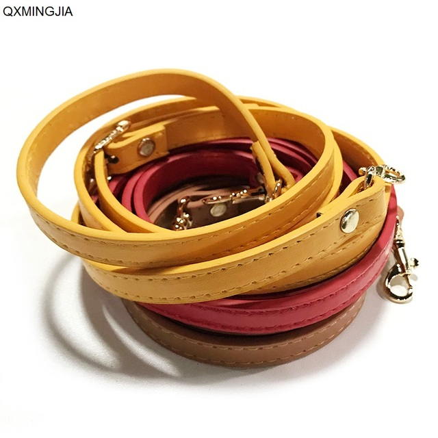 Detachable Bag Handle Replacement Bags Strap Women Girls PU Leather Shoulder Bag Parts Accessories Buckle Belts WS074