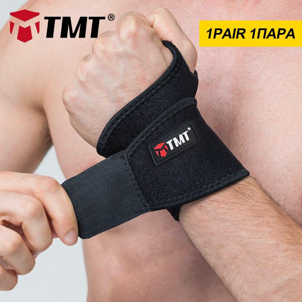 TMT Poignet Brace Bretelles Sport Pouce Wraps Stabilisateur Haltérophilie Soutien Exercices Gymnase Bandage Main Protecteur L'arthrite Douleur