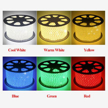 Wholesale 100m/Lot Led Strip Light 220 240V SMD2835 120led/M Waterproof  Flexible Fairy Lighting Outdoor Decoration Neon Lights