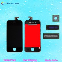 5 PCS High Quality LCD Assembly For iPhone 4 For iPhone 4S LCD Display Screen and Digitizer Assembly Replacement  White&Black