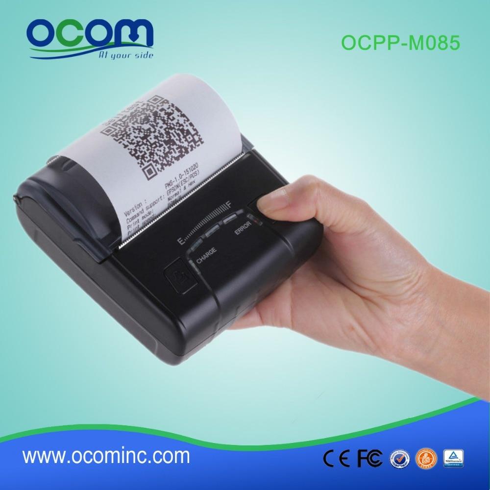 OCPP-M085(USB+BT): 1.D,2.D Bar Code Printing Mini Bluetooth Thermal Printer Price