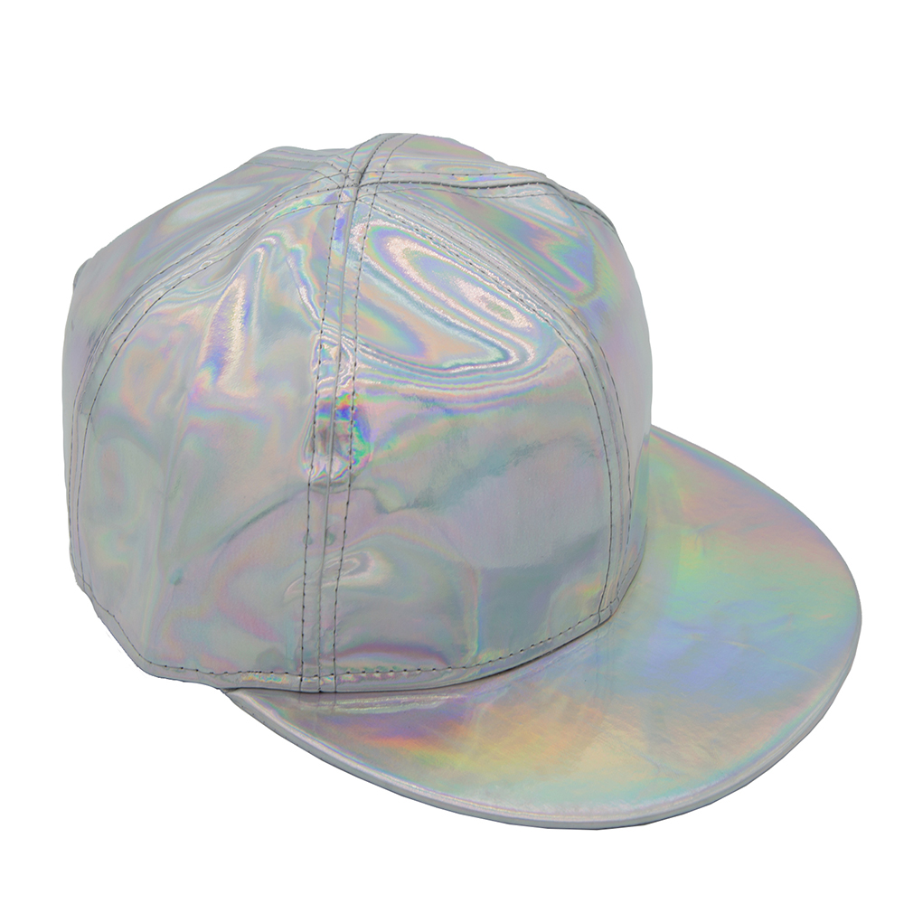 XCOSER Marty McFly Cap Rainbow Hat with Adjustable Buckle Back to the Future Cosplay Accessory Flexible Fit Unisex Baseball Cap