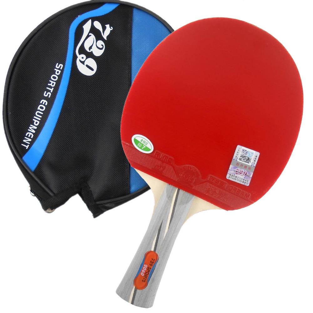 RITC 729 Friendship 2060# Pips-In Table Tennis Racket with Case for PingPong Shakehand long handle FL 20pcs 5w 5k1 5 1k ohm cement resistor