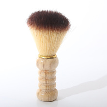 Artificial Fiber Shave Shaving Razor Brush Wood Handle Mustache Brushes For Men Clearance Beard Tools  YF2017