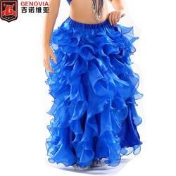8 цветов дети обувь для девочек Professional танец живота костюмы длинные макси юбки женщин обувь Восточный живот танцевальная юбка