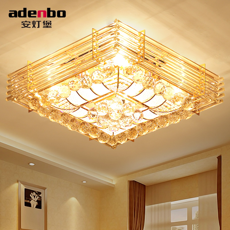 Top quality modern led ceiling lights with crystal balls and gold top quality modern led ceiling lights with crystal balls and gold color for living room bedroom lighting adb2623 50 in ceiling lights from lights aloadofball Gallery