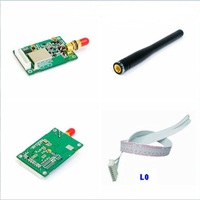 5V 1W Power RF Transceivers RS 232 RS 485 TTL 400 470MHz Frequency RF Modules 2