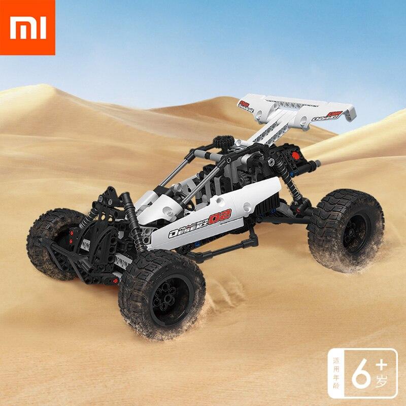 Original Xiaomi Mijia Building Blocks Cars Desert Racing Cylinder Piston Linkage System Classic Parts Assembly Block