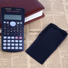 Mini Función Escuela Estudiante Scientific Calculator Calculadora 2-Line Display LCD Contador Máquina Calculadora Multifuncional