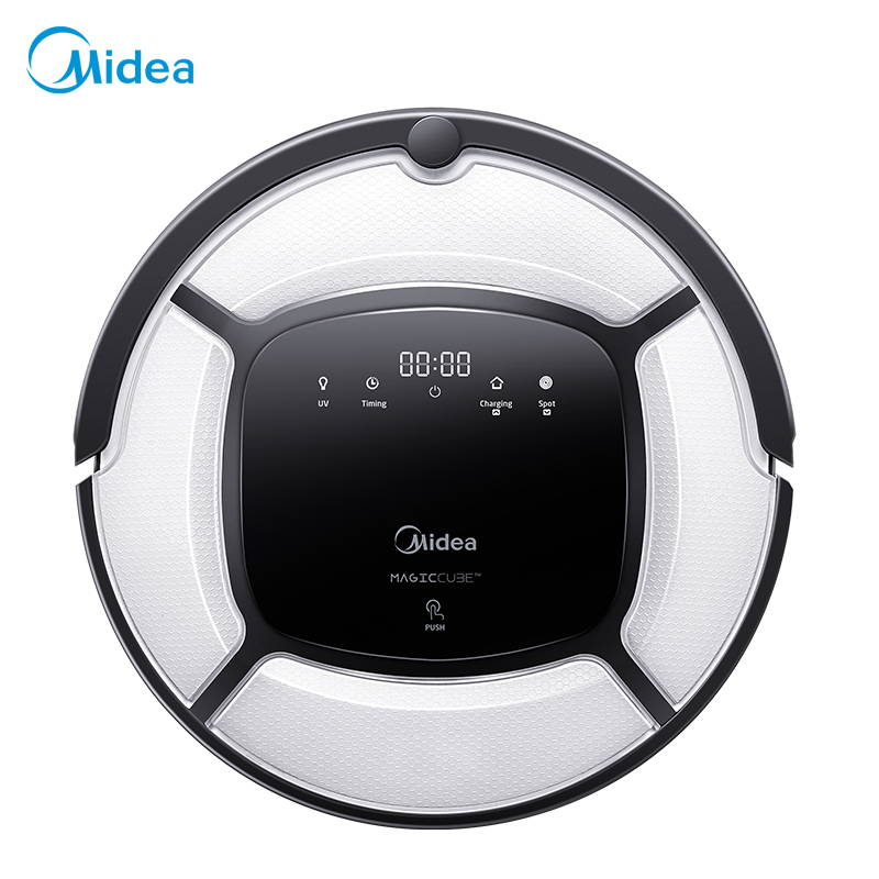 Midea MR03 Robot Vacuum Cleaner by remote control, with Multi-mode, UV Light and auto-charging, anti-collision and anti-fall цена и фото