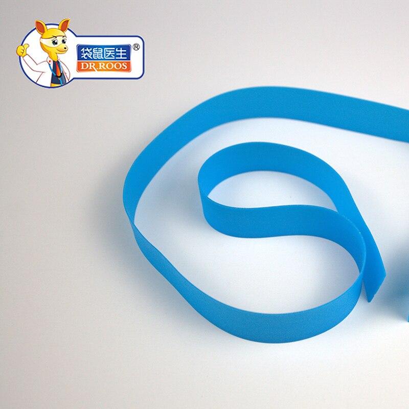 2x35cm 50 Pieces Rubber Tourniquet Blue Hospital Blue Tourniquet Roll