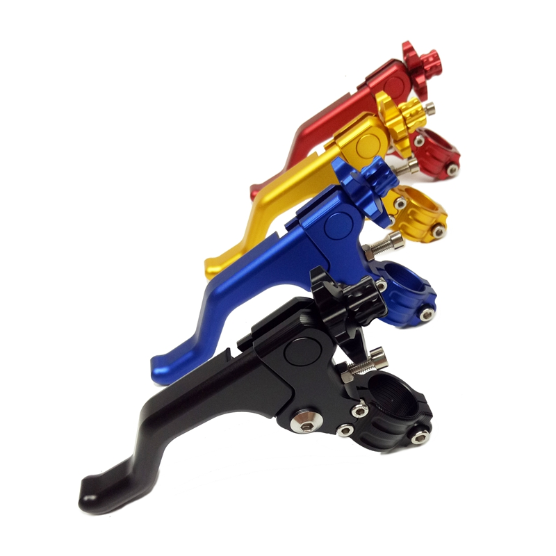 100% Brand New Motorcycle CNC Short Stunt Clutch Lever for Kawasaki for Suzuki For Honda for Yamaha Black Blue Red Gold