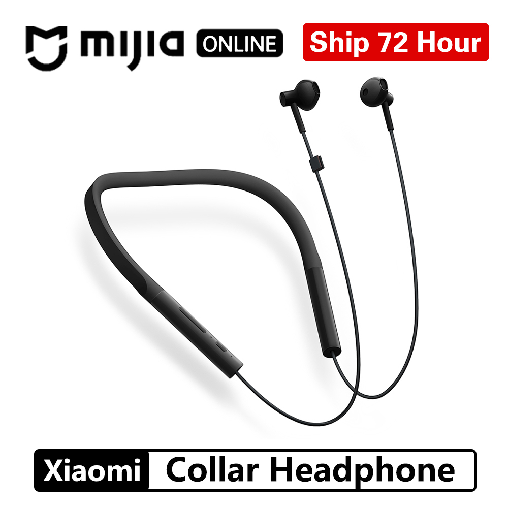 Original Xiaomi Collar Bluetooth Headset Youth Version Fast Charge Wireless Neckband Sports Apt x Hybrid Dual