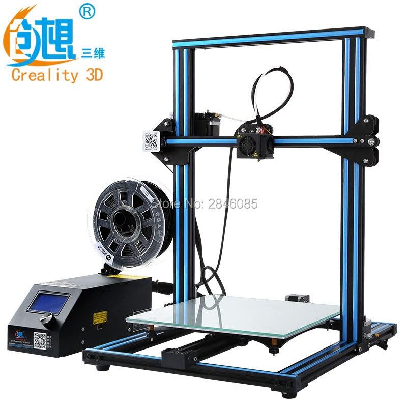 Hot 3D Printer Creality 3D CR-10S CR-10 Optional ,Dua Z Rod Filament Sensor/Detect Resume Power Off Optional 3D Printer DIY Kit metal frame linear guide rail for xzy axix high quality precision prusa i3 plus creality 3d cr 10 400 400 3d printer diy kit