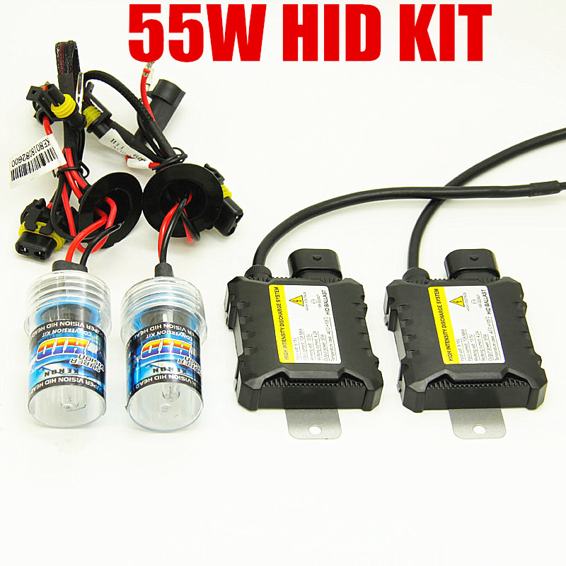 55W Hid Xenon Light H7 H4 H1 H3 H11 H13 9005 9006 HB4 HB4 880 881 HID  Headlight Conversion Kit