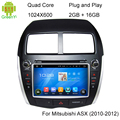8 Inch Android 5.1 Quad Core Car DVD GPS Player For Mitsubishi ASX/Outlander Sports/RVR/CITROEN C4/PEUGEOT 4007 Radio WIFI BT