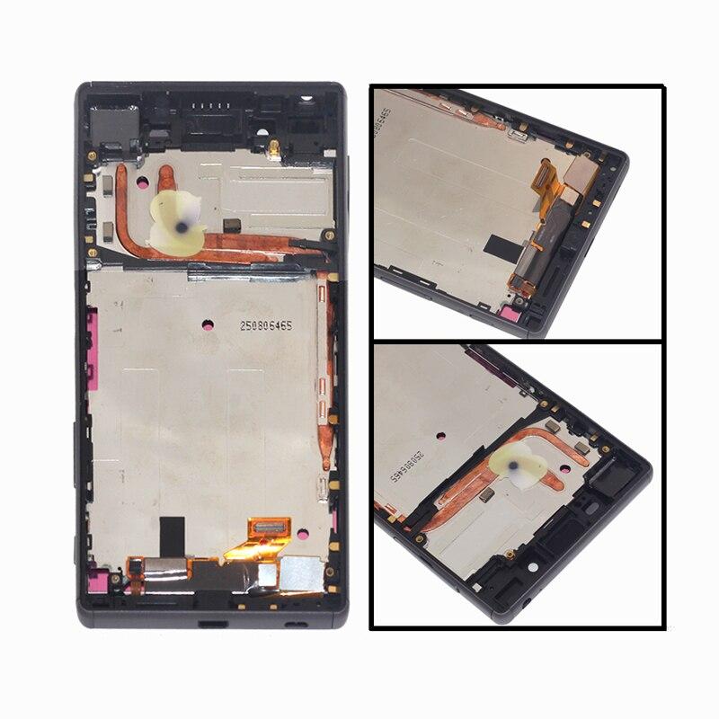 Image 2 - Apropriado para Sony Xperia Z5 monitor LCD digitador da tela de  toque para Sony Xperia Z5 E6633 E6683 componentes do telefone display  LCDLCDs de celular