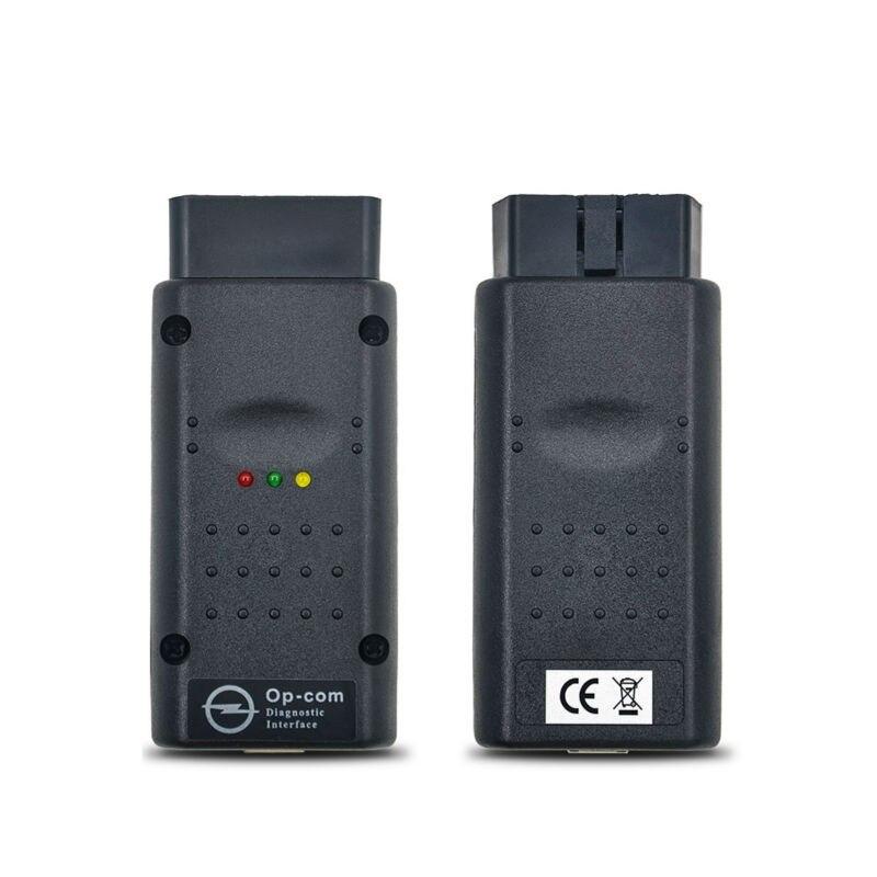 Цена за 10 шт./лот Высокое качество A + + + Opcom Программное Обеспечение 2014.02 с PIC18F458 Чип OP-Com Can OBD2 Opel Прошивки V1.59 Opel Op com CAN АВТОБУС