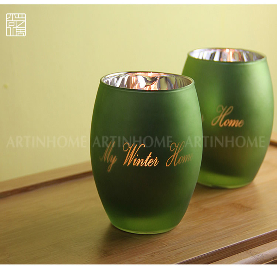 Glass Candle Holders For Wedding Home Decoration Metal Lantern Dekordlyadoma Zniczccan Lamp Wall Candlestick DDX400