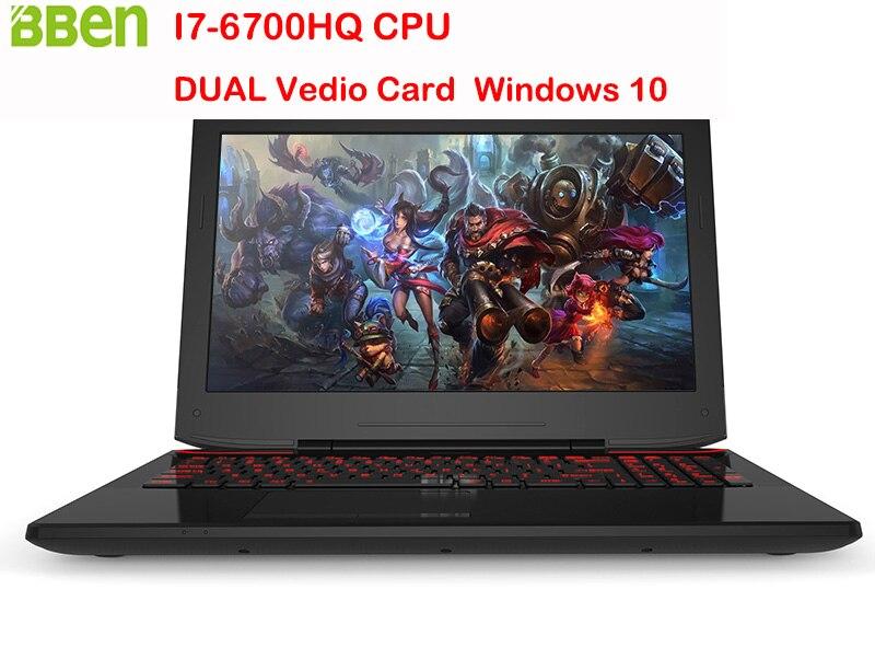 Bben X6 15 6 Windows 10 Laptop Gaming Computer UK US Touchpad Backlit keyboard Intel Skylake